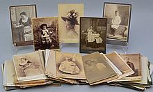 (95) MISC. 19TH CENT. PORTRAIT CABINET PHOTOGRAPHS