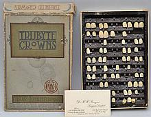 VINTAGE BOX OF TRUBYTE CROWNS