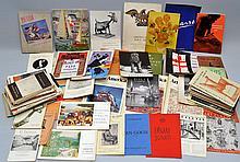 LARGE LOT OF VINTAGE ART INTEREST SOFT FORMAT PUBLICATIONS