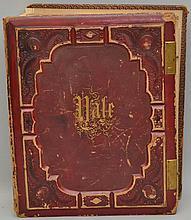 1867 YALE CLASS YEAR BOOK ALBUM