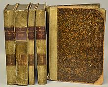 Concionum Opus / Concionum Sylva Nova Seu Auctarium in Festa Totius Anni by R. P. Matthiae Fabri - Volumes I through V  [THEOLOGY]