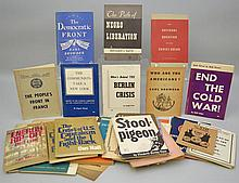 Pamphlets on Communism and Socialism - 47 Items