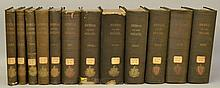 Commonwealth of Massachuetts.  The Journal of the Senate - 12 Volumes
