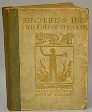 Siegfried & The Twilight of the Gods by Richard Wagner, Illustrations by Arthur Rackham