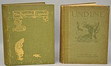 ILLUSTRATED BY ARTHUR RACKHAM - 2 Volumes