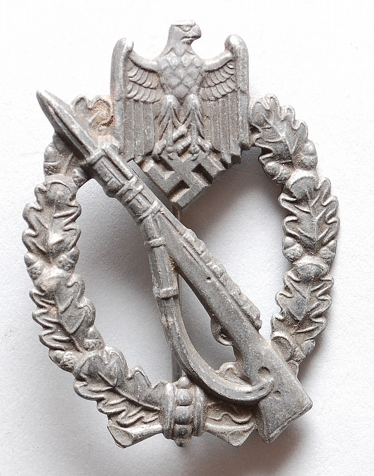WWII NAZI GERMAN INFANTRY ASSAULT BADGE