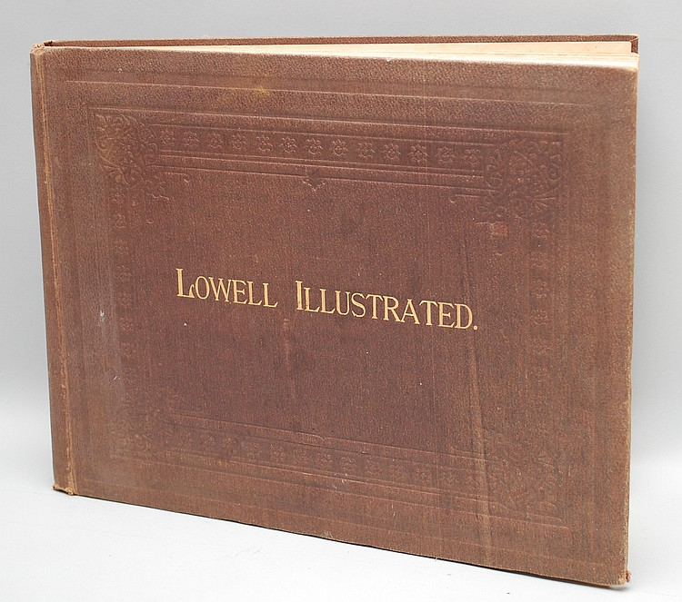 LOWELL ILLUSTRATED BOOK BY FRANK P. HILL