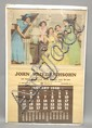 1948 ADVERTISING CALENDAR W/ DIONNE QUINTUPLETS ILLUSTRATION