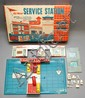 VINTAGE 20TH CENT. AMERICAN TIN LITHOGRAPH SUPERIOR ALL METAL SERVICE STATION TOY W/ ORIGINAL BOX