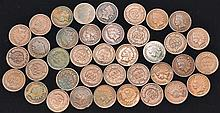 38 MISC. U.S. INDIAN HEAD CENTS