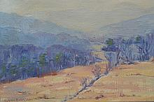 ELIZABETH SHERINYAN LANDSCAPE OIL PAINTING ON CANVAS
