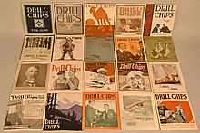 (61) ISSUES OF DRILL CHIPS ADVERTISING MONTHLY MAGAZINE FROM 1916-1921 BY THE CLEVELAND TWIST DRILL CO.