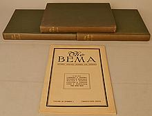 (25) ISSUES OF DARTMOUTH COLLEGE - THE BEMA - STUDENT PUBLICATION FROM THE 1910'S