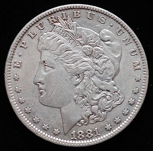 1881-O U.S. MORGAN SILVER DOLLAR