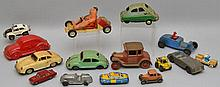 COLLECTION OF (15) VINTAGE TOY CARS
