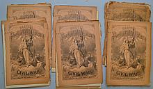 APPROX. (25) ISSUES OF HARPER'S PICTORIAL HISTORY OF THE CIVIL WAR