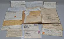 COLLECTION OF VINTAGE RAILROAD PAPER EPHEMERA