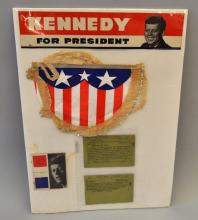 1960 KENNEDY CAMPAIGN LOT
