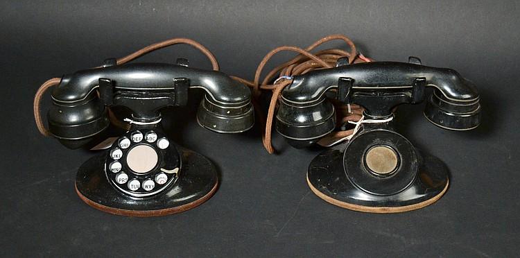 (2) VINTAGE WESTERN ELECTRIC TELEPHONES