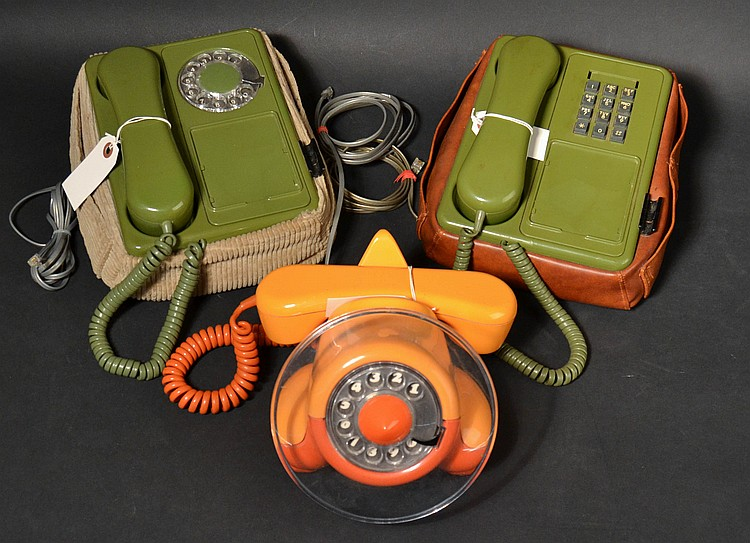 (3) DIFFERENT VINTAGE NORTHERN TELECOM IMAGINATION SERIES TELEPHONES