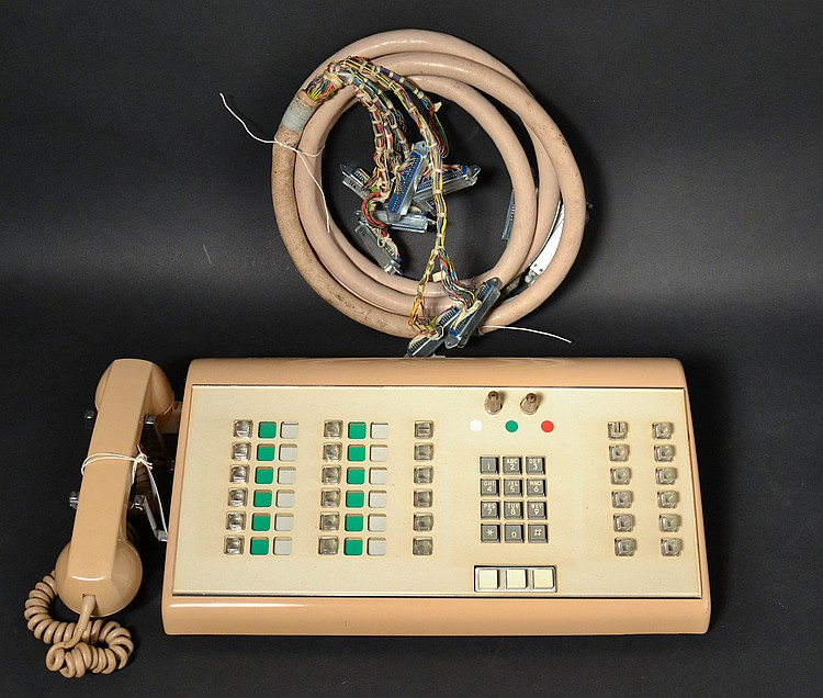 VINTAGE NORTHERN ELECTRIC NO. 1 PBX CONSOLE WITH CORD