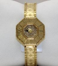 Buccellati 18K YG Ladies Watch With Original Box