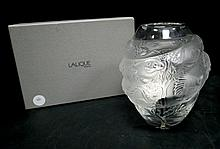 Lalique Molded & Frosted Crystal