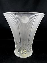 Lalique Epis Crystal Vase