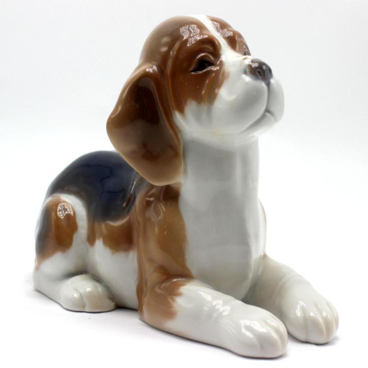 Royal Copenhagen Beagle Puppy