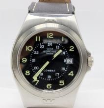 Glycine Combat Stainless Steel Quartz Watch