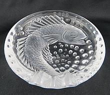 Lalique France Concarneau Fish Design