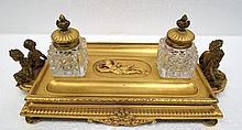 Elkington & Co. Antique Victorian Desk Set
