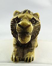Chinese Hand Carved Ivory Netsuke