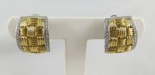18Kt 2 Tone Roberto Coin Women's Earrings