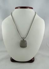 David Yurman 925 Albion Diamond Pendant