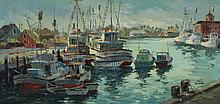 Original Jack Hannah Oil Painting on Canvas (California)