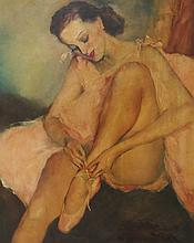 Pal Fried (American/Hungarian 1893-1976) Oil Painting