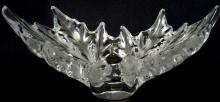 Lalique Crystal Le Champs Elyses Centerpiece