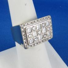 Contemporary 18Kt WG Diamond Fashion Ring