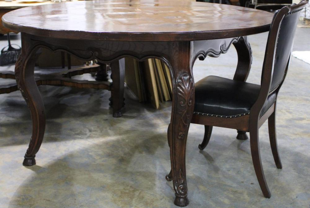 French Country Round Dining Table, French Country Round Kitchen Table