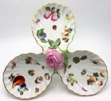 Herend Porcelain Relish Dish