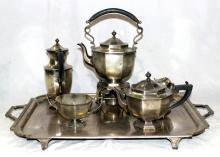 6 pc. Antique English Tea Set