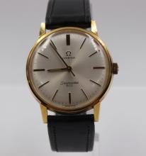 Omega Seamaster Gold Plated Manual Wind Wristwatch