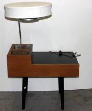 George Nelson for Herman Miller Lamp/ End Table