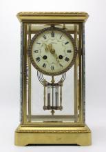 Beautiful Tiffany & Co. Crystal Champleve Clock