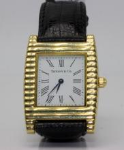 Tiffany & Co. 18Kt YG Wristwatch