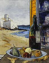 Charles Levier (French 1920-2003) Oil Painting on Canvas
