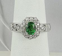18Kt Michael Christoff Diamond Ring