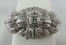 18Kt WG 5.59ct Diamond Pendant
