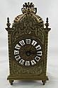 Antique Bronze Carriage Clock